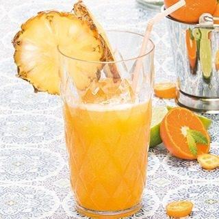 Ananas Sinaasappel Drank