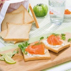 Wit Toast brood