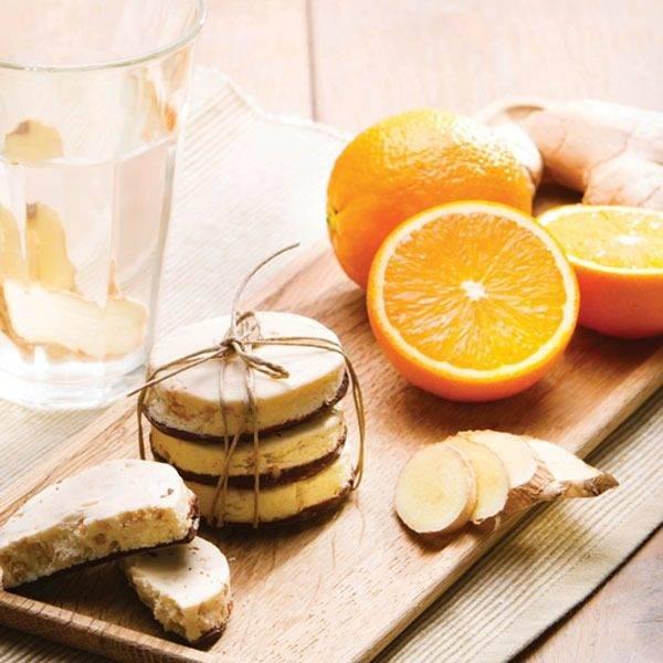Sinaasappel Gember Koek